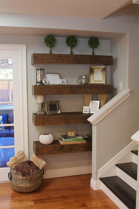 Shelves Ideas Diy by Simple Diy Floating Shelves Tutorial Decor Ideas