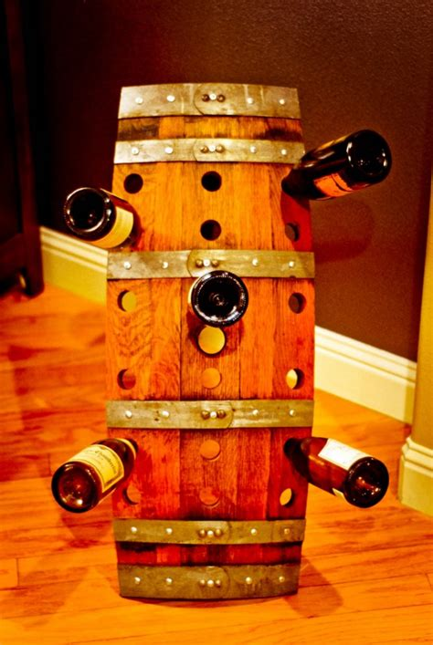awesome recycled wine barrel diy ideas