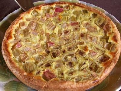 cuisiner de la rhubarbe tarte à la rhubarbe recettes a cuisiner le meilleur