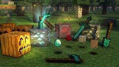 Minecraft Wallpapers Background Halloween Cube Desktop Pixelstalk