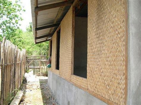 amakan woven bamboo wall cladding kawayan amakan