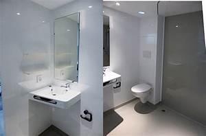 bien salle de bain tres petite 6 noviris la salle deau With tres petite salle de bain