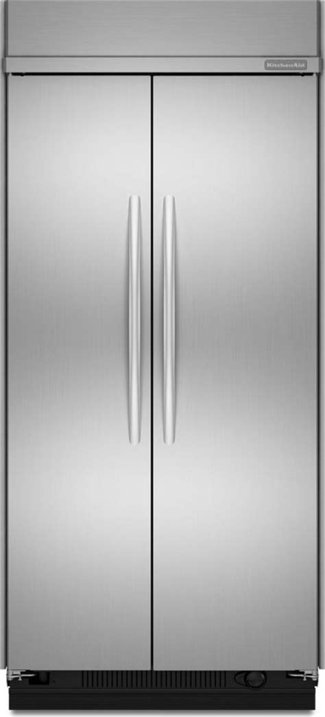 Kitchenaid Fridge Maker Troubleshoot by Kitchenaid Kssc42fts 42 Quot Built In Side By Side