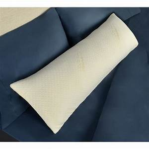 tempur pedic foam body pillow 15365215 the home depot With are tempurpedic pillows worth it