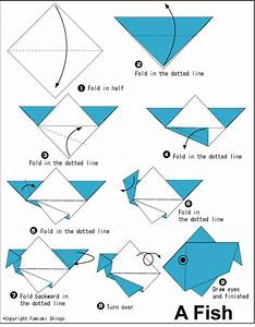 Easy Origami Eagle Instructions For Kids #1 | Summer Camp ...