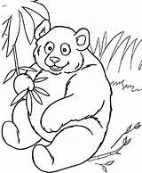 Bamboo Coloring Panda Peels Sheet Mitraland sketch template