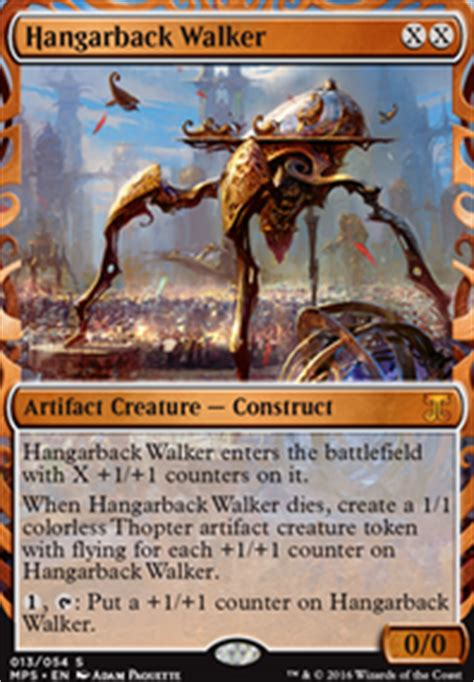 Thopter Deck Standard 2015 by Thopters Origins Standard Mtg Deck