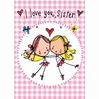 Sister Sis Sisters Card Quotes Birthday Cards
