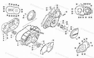 Arctic Cat Side By Side 2011 Oem Parts Diagram For Clutch