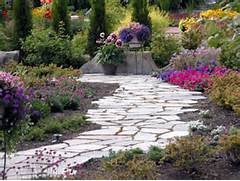 Design Walkways And Garden Paths Garden Design For Living The Perfect Path Landscaping Ideas And Hardscape Design HGTV Bricked Path Is A Permanent Solution For Your Garden You Can Do Designing Garden Pathways Natural Stone Steve Snedeker S