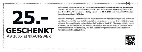 Ikea Gutschein Drucken by 25 Ikea Gutschein Auf Alles Ab 200 Einkaufswert On Und