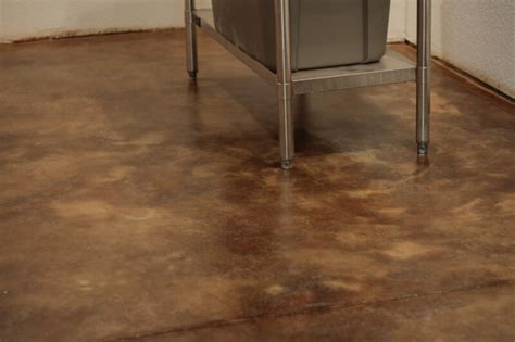 How to Acid Stain Concrete Floors ? The Prairie Homestead
