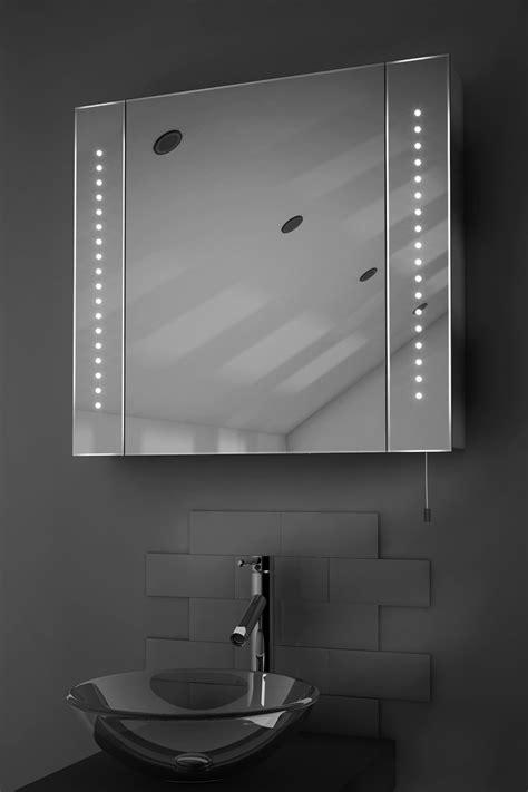 Battery Bathroom Mirror by Regal Led Illuminated Battery Bathroom Mirror Cabinet With