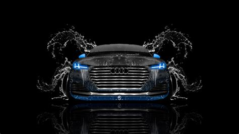 audi tt offroad front water car  el tony