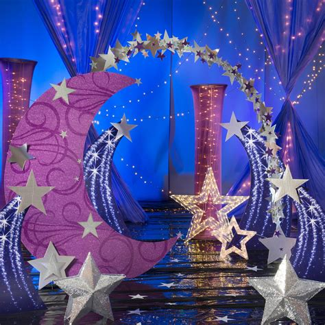 pretty party decorating ideas star party party stage