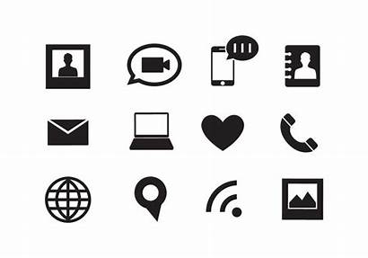 Icons Icon Vector Web Phone Illustrator Symbol