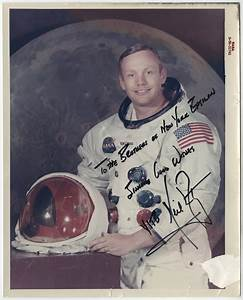 Lot Detail - Neil Armstrong Signed and Inscribed 8x10 ...