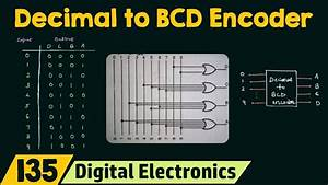 Encoder And Decoder Circuit Diagram And Truth Table Pdf