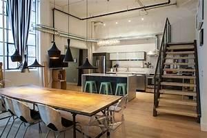 Cuisine Moderne Design : cuisine style atelier la nouvelle tendance cuisine ~ Preciouscoupons.com Idées de Décoration