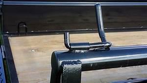 Single Axle Utility Trailer W  Hi-sides
