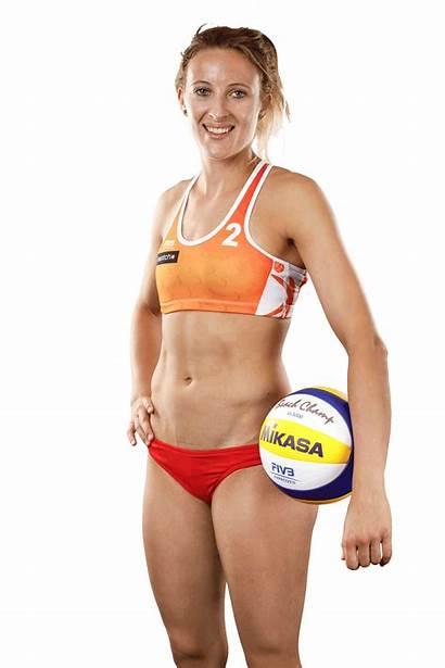 Volleyball Van Players Beach Hottest Gestel Sophie