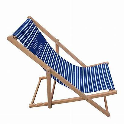 Deck Canvas Chair Wooden Foldable Support