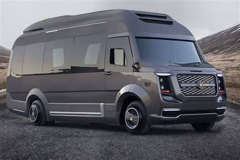 Luxury Rv Expands To Reveal Jet-like Interiors