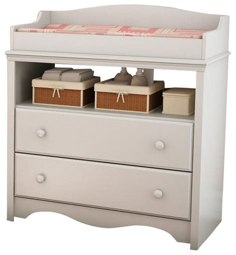 south shore changing table south shore andover changing table in pure white