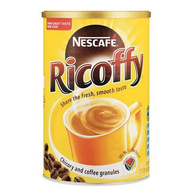 Decaffeination processes described above remove roughly 95 percent of caffeine from coffee beans. Ricoffy Instant Regular Coffee , 1 X 750G   Vending Solutions