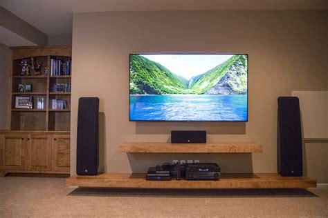 floating shelves entertainment center floating shelf