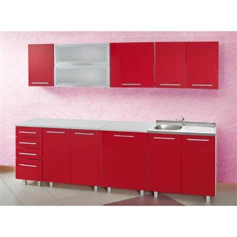 meuble cuisine en ligne cuisine discount en kit coloris module de 2m60