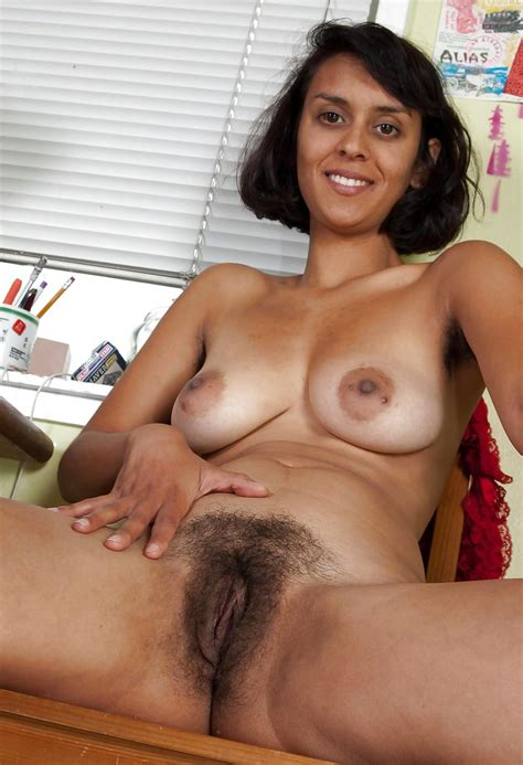 Sonya Exotic Milf With Hairy Armpits And Shapely Tits