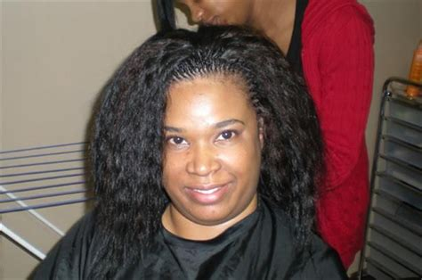 Extra Small Tree Braids With Human Wet And Wavy Hair