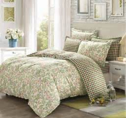 100 cotton 4pcs full queen bedding set country style branches quilt cover sheet pillowcase