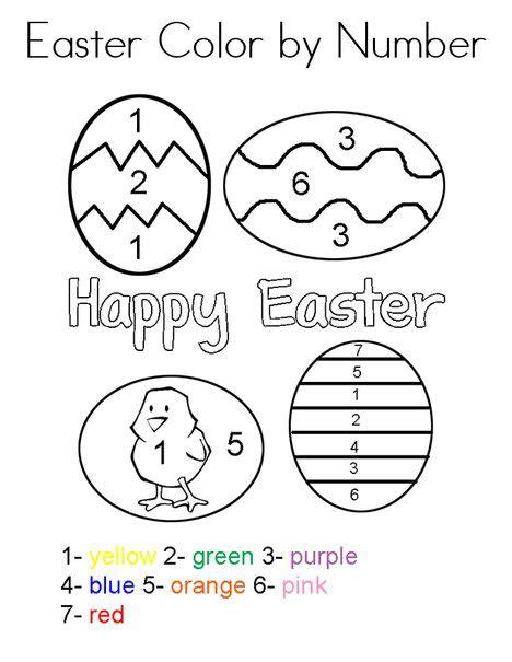 easter color sheets easter preschool worksheets best coloring pages for
