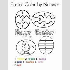Easter Preschool Worksheets  Best Coloring Pages For Kids