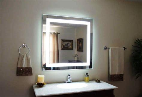 lighted bathroom wall mirror   bathroom styles