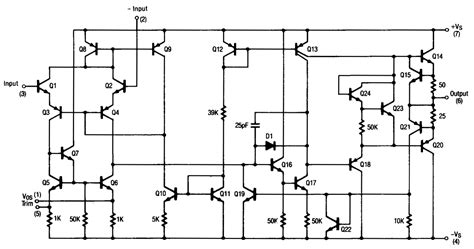 Operational Amplifier Can The Offset Null Pins