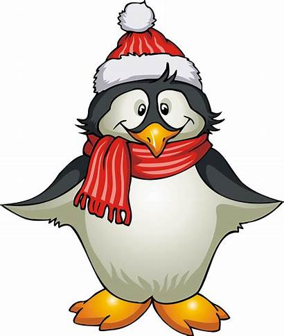 Clip Clipart Animals Penguin Arctic Warm Winter