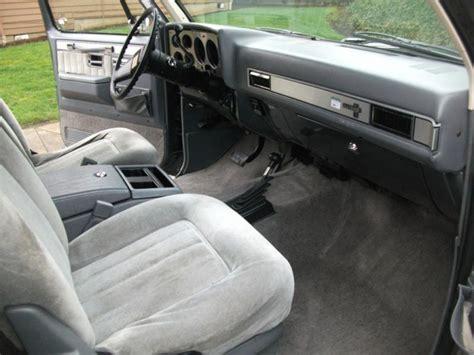 blazer interior 1987 k5 blazer dash autos post K5
