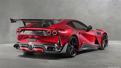 812 Superfast Modification by Car Tuning Desktop Wallpapers Mansory Stallone 812