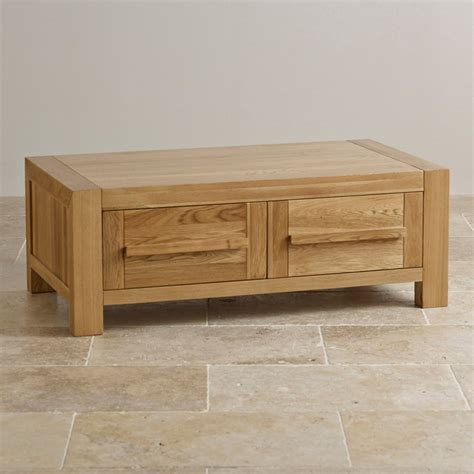 solid oak coffee table fresco 2 drawer coffee table in solid oak oak furniture land