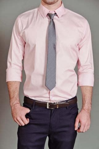 roxbury light pink button  shirt  gray tie