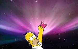 Homer Simpson Apple Wallpapers