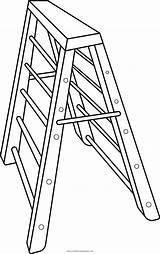 Escalator Coloring Template Sketch sketch template