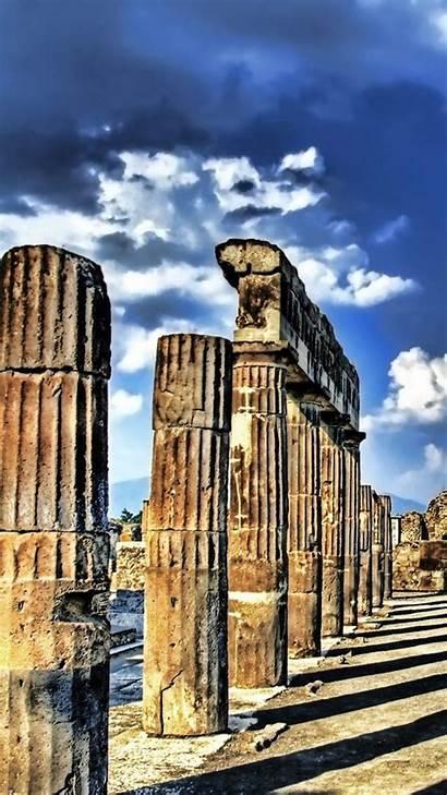 Ancient Greek Greece Ruins Classical Columns Doric