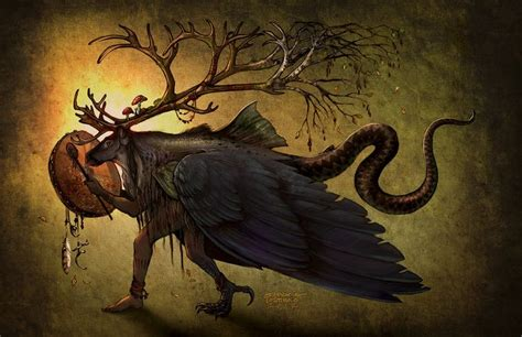 The Shaman As Carrier Of The Northern Mysteries; Bird