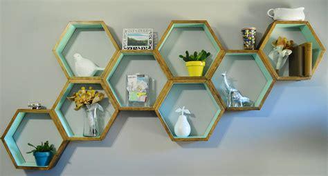 Honeycomb Shelves Home Design