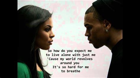 jordin sparks feat chris brown  air lyrics hq youtube
