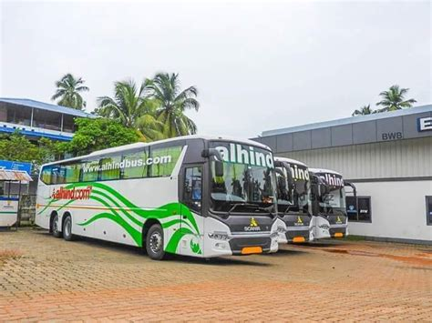 presenting   alhind scania officials volvo
